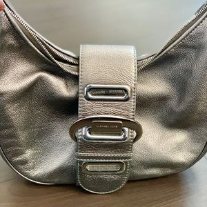 Gently Used Michael Kors Silver Purse